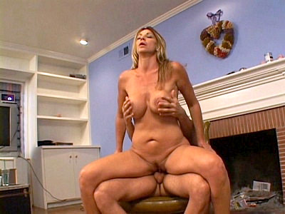 Cum Hosed Blonde Milf